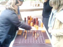 Animation Jeux Géants en Bois  Patrimoine Vivant 2013